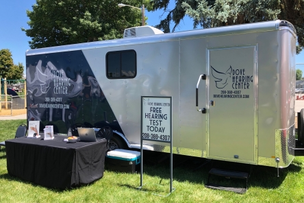 Dove Hearing Center mobile hearing care clinic